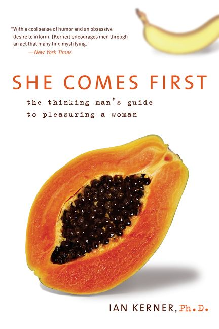 """Cover of Ian Kerner's book """"She comes first"""""""