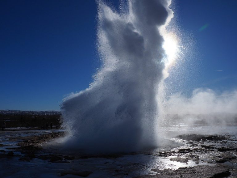 Image d'un geyser